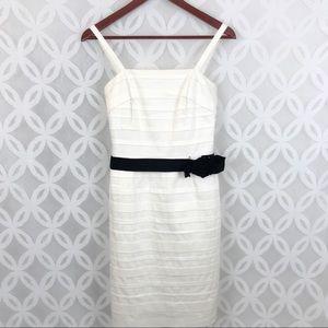 White House Black Market Tiered Bodycon Dress